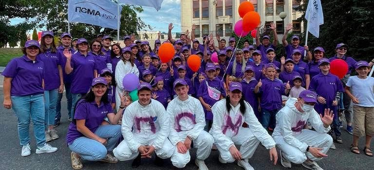 Колонна ПСМА Рус приняла участие впраздничном параде наДень города